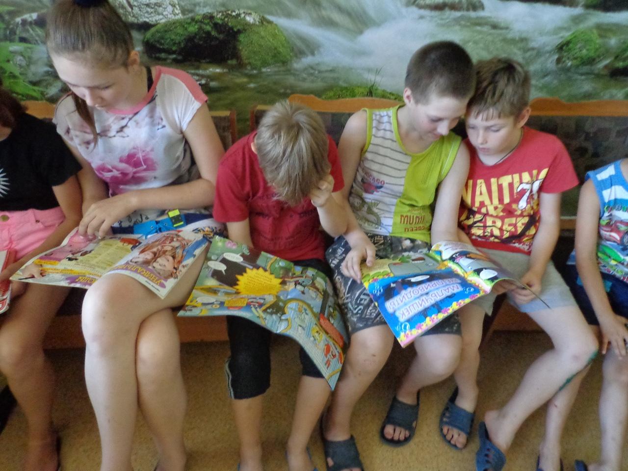 донецкая республиканская библиотека для детей, отдел обслуживания учащихся 5-9 классов, занятия с детьми