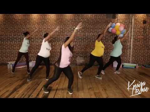 Pregnancy Workouts -MILF MOVES Prenatal DVD AVAILABLE NOW!! -Keaira LaShae