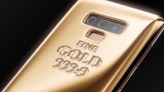 Caviar's Samsung Galaxy Note9 1kg of gold in this phone