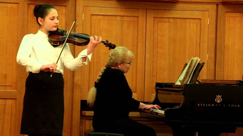 Ш. Берио - Концерт №9 для скрипки ля минор 1 часть
