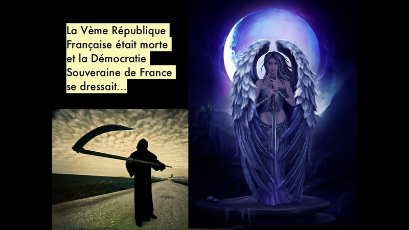 Gilets jaunes J'ai fait un rêve La France est une Déesse Démocratie Souveraine