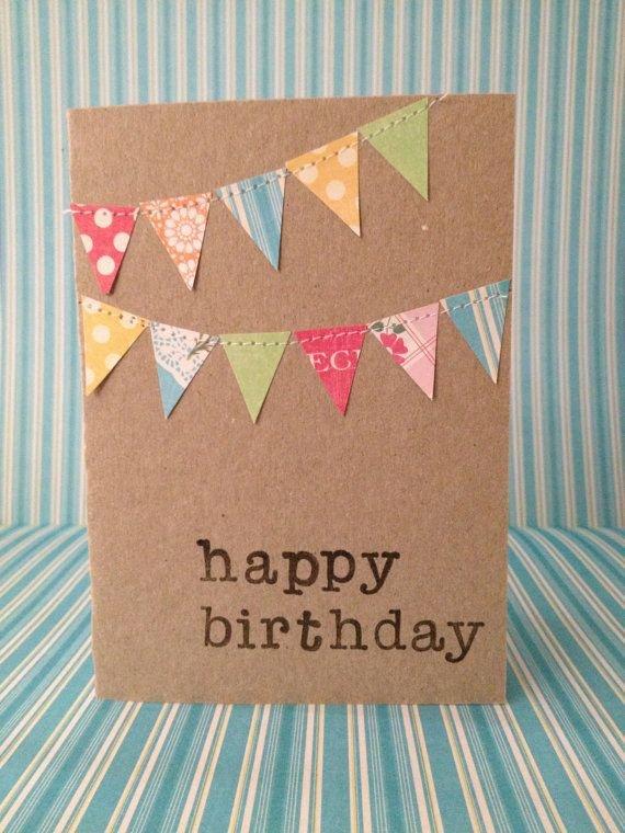 Идеи открыток своими руками на день рождение