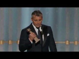 Мэтт Леблан – премия Золотой глобус (13.01.2012). Лучший актер в сериале (комедия или мюзикл) - «Эпизоды»
