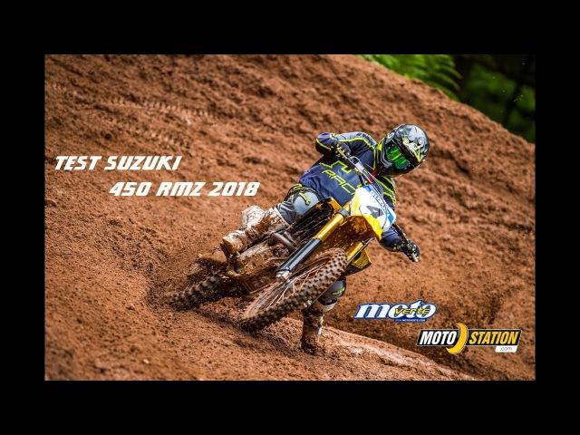 Essai Suzuki 450 RMZ 2018