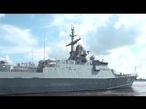 Первый этап заводских ходовых испытаний МРК «Ураган» в акватории Ладожского озера