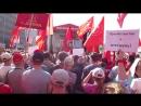 Митинг против пенсионного геноцида 22 сентября