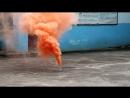 MA0509 SMOKING FOUNTAIN ORANGE цветной дым