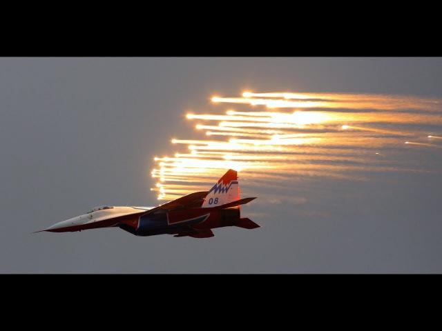 МАКС 360: авиационная группа высшего пилотажа «Стрижи»