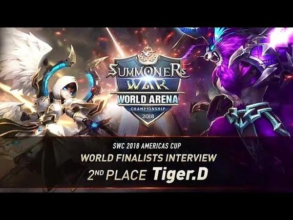 EN KO SUB World Finalists Interview Tiger D Summoners War 서머너즈워
