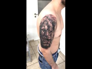 Один сеанс, будет продолжение... При поддержке - @dr.gritz_tattoo , @x_salon_com , @xsaloncom