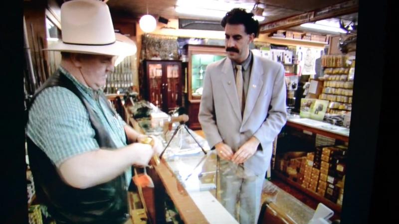 Borat - Make My Day Jew (Gun Store Clip)