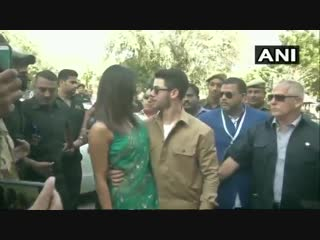 Priyanka chopra and nick jonas leave from jodhpur