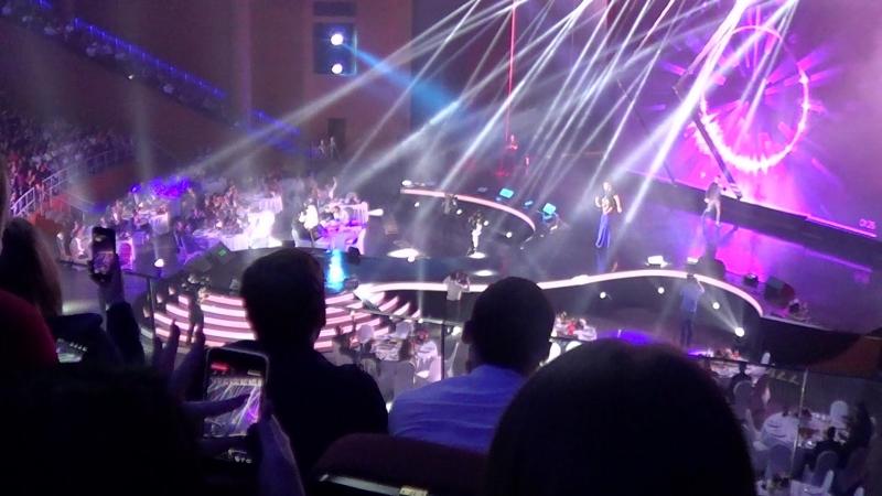Москва Крокус Сити Холл выступление Ильи Кусакина и победительницы шоу Голос