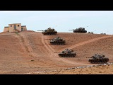 Syrian Army Pushing Back ISIS In Aleppo And Taking Back Aleppo Marching Forward With Tanks