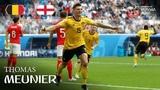 Thomas Meunier Goal Belgium v England MATCH 63
