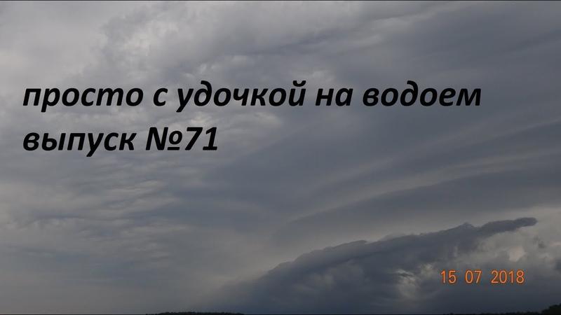 просто с удочкой на водоем выпуск №71 - с поплавком на ДВХ...