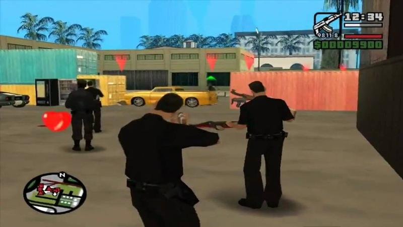 GTA san andreas DYOM mission 2 Attacco Improvviso HD