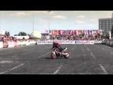 Соревнования на лучший трюк на мотоцикле