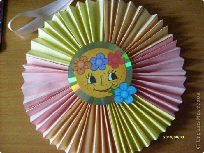 Солнышко своими руками поделки для детского сада
