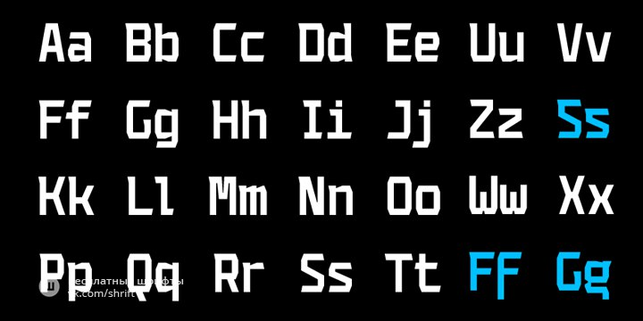 Download Codename Coder 4F font (typeface)
