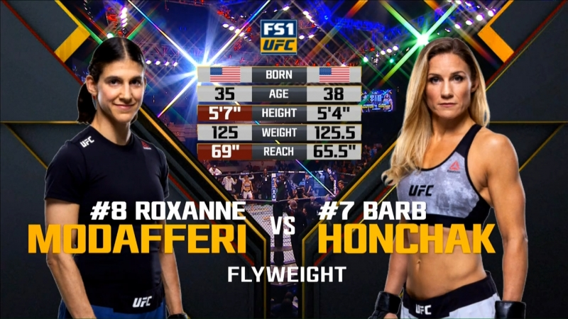 The Ultimate Fighter 27 — FINALE Roxanne Modafferi vs. Barb Honchak