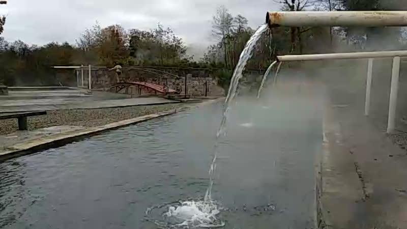 горячий источник нще один 😍 обзорочка Абхазия