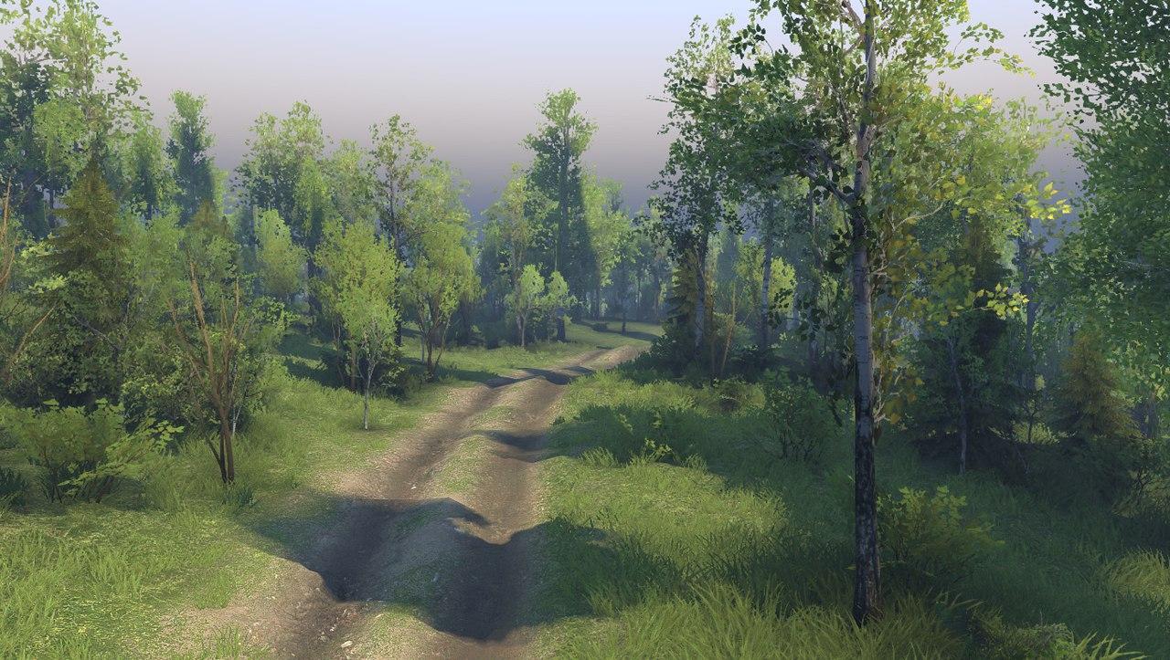"""Карта """"Загарье"""" для 13.04.15 для Spintires - Скриншот 1"""
