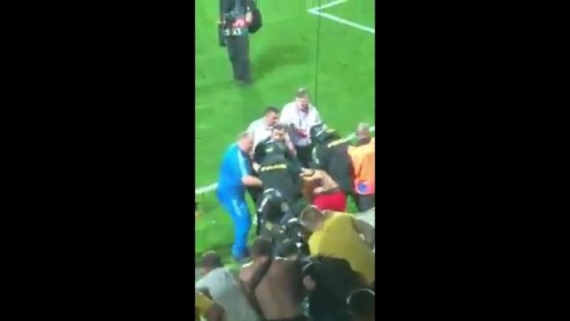 Чехія – Україна поліція жорстко арештовувала українських фанатів на стадіоні – як Шевченко сміливо втрутився у конфлікт