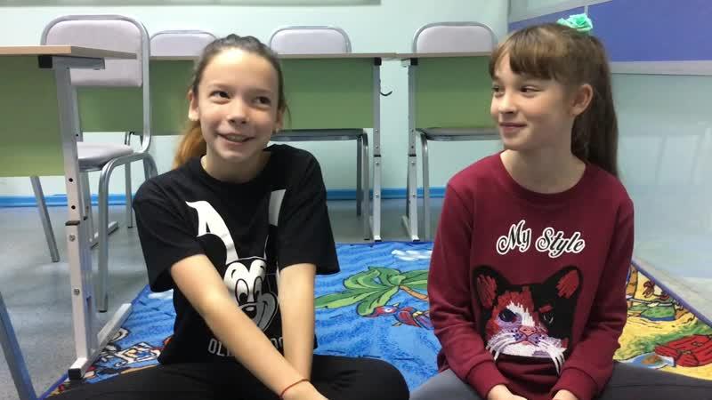 Видео-отзыв о предметах на английском