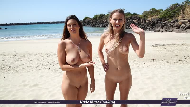 Nude Muse Cooking S06E13 Scarlett-Morgan and Elly