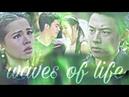 нелюбовь Тит и Джи волны жизни waves of life kleun cheewit