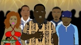 2Pac vs Notorious BIG - Rap Battle (LT Animated Cartoon)