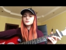 InvokershaAnya Cover acoustic Баста МАМА