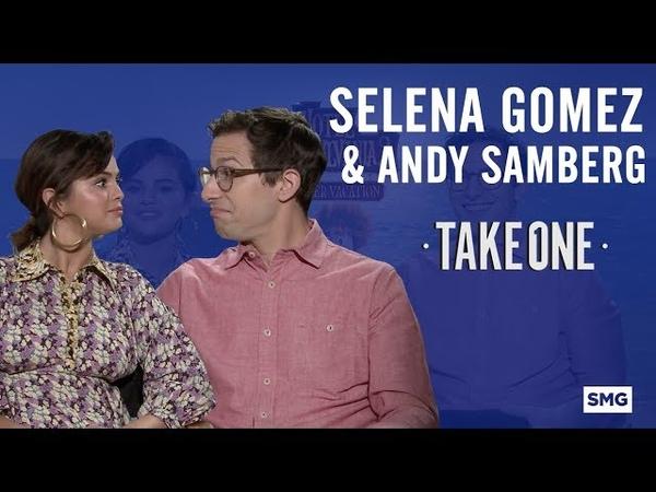Selena Gomez Andy Samberg - Take One on Hotel Transylvania 3
