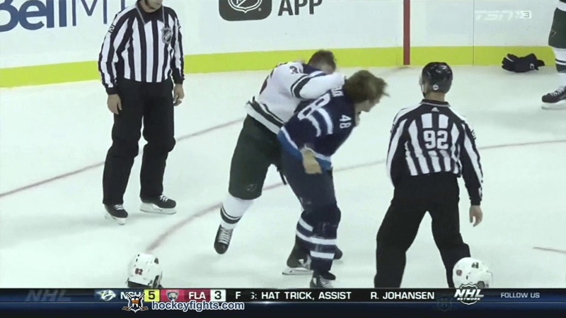 Nick Seeler vs Brendan Lemieux Sep 17, 2018