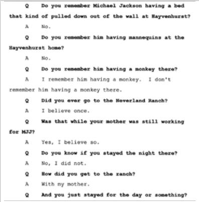 Показания Йоши Уейли, сына Джоли Левин (секретарь MJ)., изображение №18