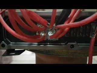 Замер мощности усилителя DL Audio Gryphon Pro 4.200 (прототип черновой)