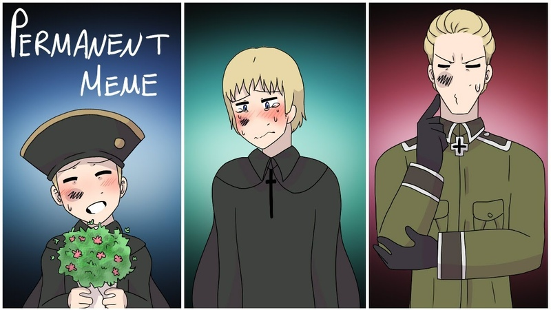Permanent Meme | Hetalia | flash warning (?)