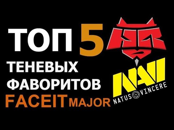 ТОП-5 Темных лошадок ФЭЙСИТ МАЖОР   Faceit Major CS:GO