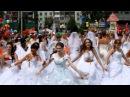 Танцевальный флэшмоб с Парада Невест 2013, г. Новокузнецк