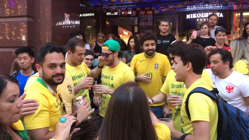 Бразильцы « спасибо руся « FIFA 18