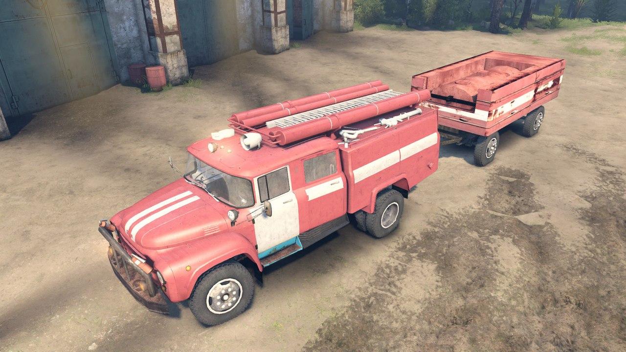 ЗиЛ 130 АЦ-40 для Spintires - Скриншот 2