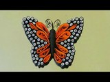 Paper Quilling beautiful butterfly using-Quilling Tutorial