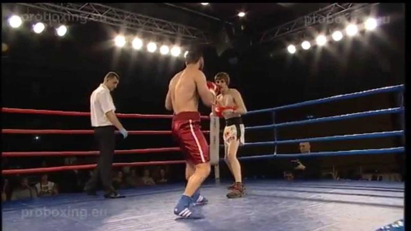 Vjačeslavs Baikovs(LAT) VS Vahram Vardanyan(ARM) Magadan Fights 27.01.2014