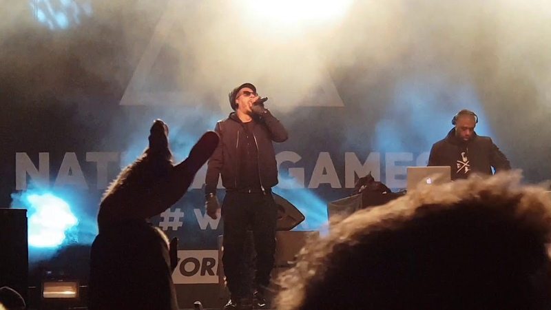Joey Starr (Группа Supreme NTM) выступил на Avoriaz 2018 с треком Seine Saint Denis Style. (14 апреля 2018 г.)