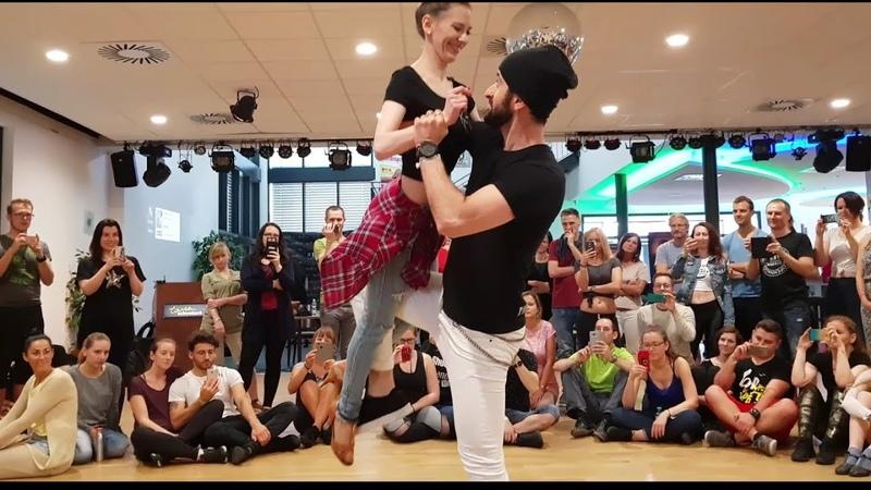 Ronie Saleh Veronika Oláh @ KizBomba Vienna Festival 2018