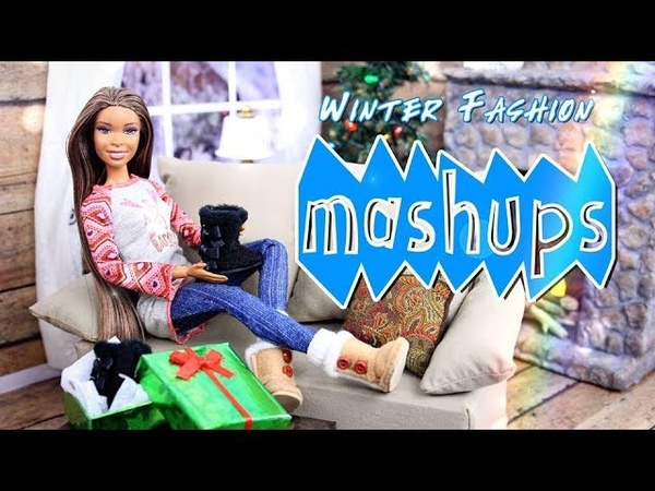 Mash Ups: Doll Winter Fashion   Kawaii Hat   Ear Muffs   Cozy Winter Outfit   Uggs More