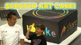 The Cake Boss and Carlo Invent a Fun Scratch Art Cake for Kids Cool Cakes 10