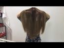 Мелирование с эффектом выгоревших волос.