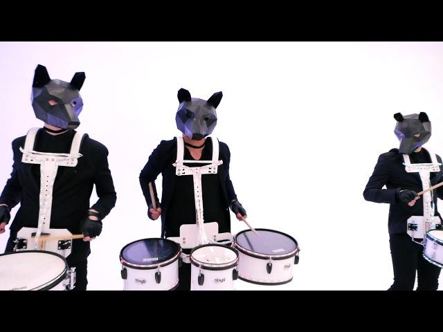 Шоу барабанщиков Hot Dogs